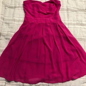 Pink Strapless Ya Los Angeles dress